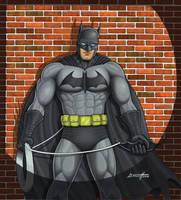 Bat against the wall by barneybluepants