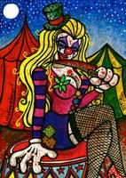 LottieKole the Killer Clown by chricko
