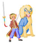 Sean Zhong and Yao colored by BudokaiHyuga