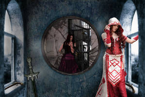 Mirror Mirror where be the adulteress? by stebev