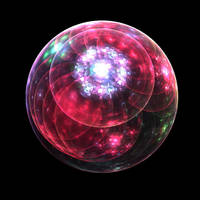 Bubble of Petals - Pong 140 by stebev