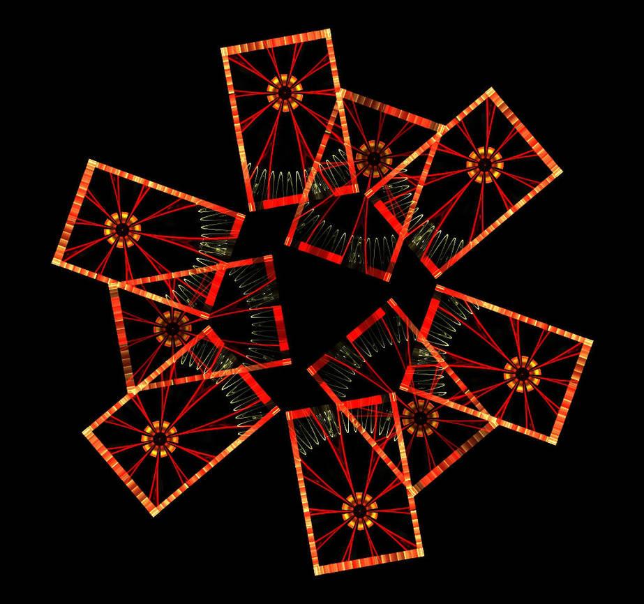 Scattered Cards - Pong 282 by stebev
