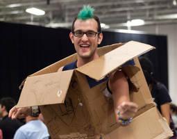 Dancing Box Guy by lupiniastudios