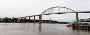 Bridge Over Canal by lupiniastudios