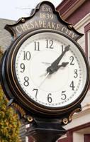 Chesapeake City Clock by lupiniastudios
