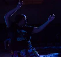 Dancing In Blue by lupiniastudios