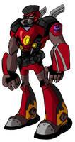 Transformers Animated Sideways by DF16