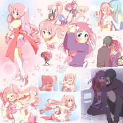 Sketchpage: Pinku by ikr
