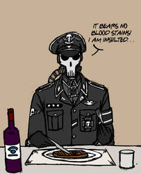 Dining With Death by NicklausofKrieg