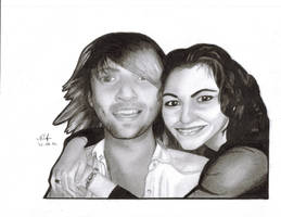 Keith Harkin and me :) by drusnemet