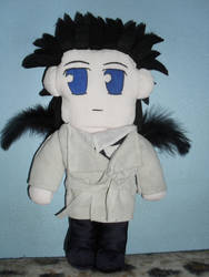 Cas doll (Supernatural) by drusnemet