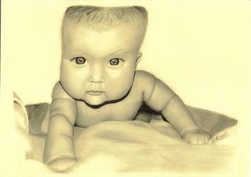 Baby portrait by drusnemet