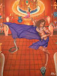Snake Ritual Dance by gracefulseanymph