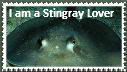 Stingray Lover Stamp by happyhorse09