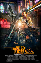 the Wild Rider_Poster by Thegerjoos