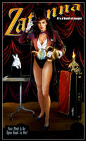 Zatanna Poster by Thegerjoos