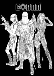 Cobra Army by Thegerjoos