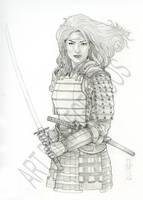 Jun Samurai Warrior by Thegerjoos