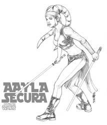 Aayla Secura by Thegerjoos