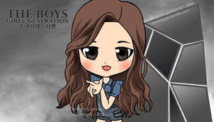 SNSD SEOHYUN THE BOYS by squeegool