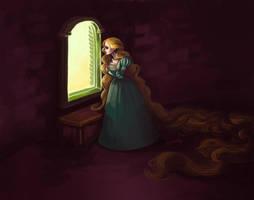 Rapunzel by squeegool