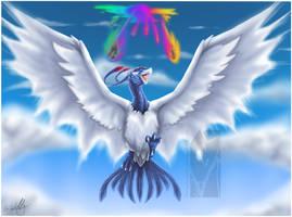 Rising Bird by Tinuvion