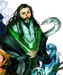 Salazar Slytherin by albus119