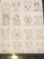 DaganCrossing Cast by pokeheartless