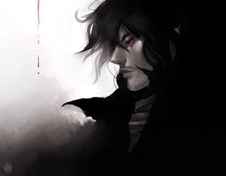 Vlad Dracula by chickenoverlord