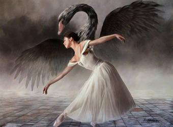 Swan Lake by BritaSeifert