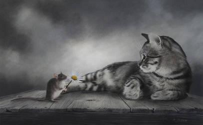 Can`t we be friends? by BritaSeifert