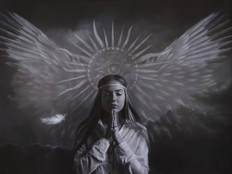 The spiritual moment by BritaSeifert