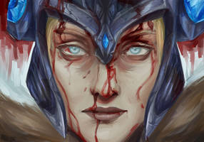 Sejuani - League of Legends by Raven-Stag