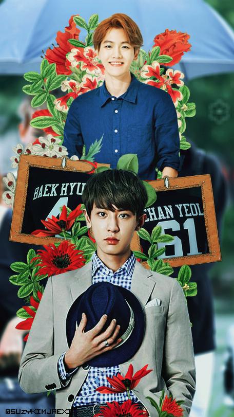 Exo Chanbaek Phone Wallpaper By Suzykimjaexi On Deviantart