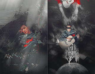[SHARE PSD]  Chanyeol  #WKOREA @EXO by SuzyKimJaeXi
