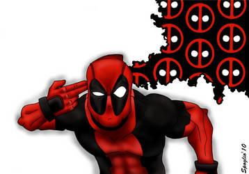 Wallpaper Deadpool by Spoglio91