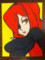 Parasoul painting by TheScarecrowOfNorway