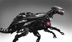Dinobot by LennartVerhoeff