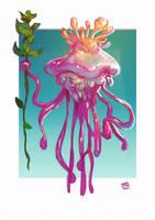 Jellyfish King by LennartVerhoeff