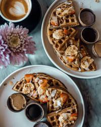 Waffles | The Loft, Canggu by SuirisWhite