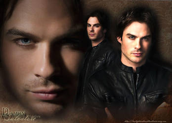 Damon the Vampire Diaries by hazelxxx