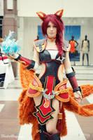 Foxfire Ahri Cosplay - Hallshot by ToukoCosplay