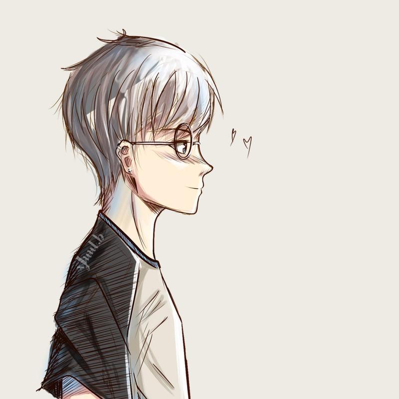 Cute Anime Boy Sketch By Xjuulb On Deviantart