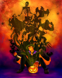 Mr Halloween by Paranoid-Duckkie