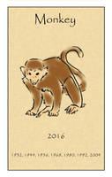 Year of the Monkey by Inuibuki