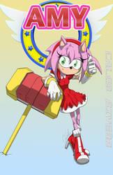 Amy-rose by caleb157