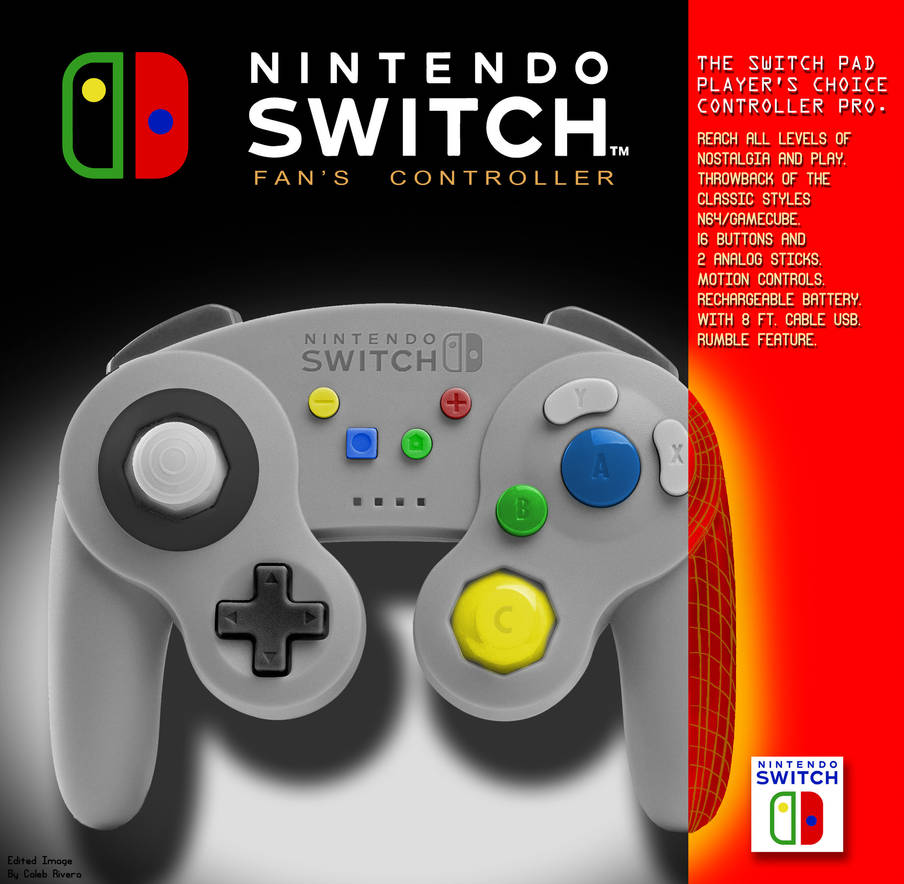 Switch Pro Throwback by caleb157