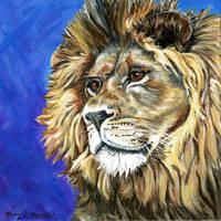 A Lion for Ellie by mkmars