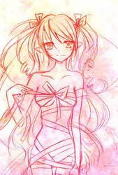Valentine Ribbons by careko