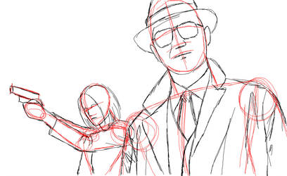 The Blacklist WIP 1 by Fischmeister4